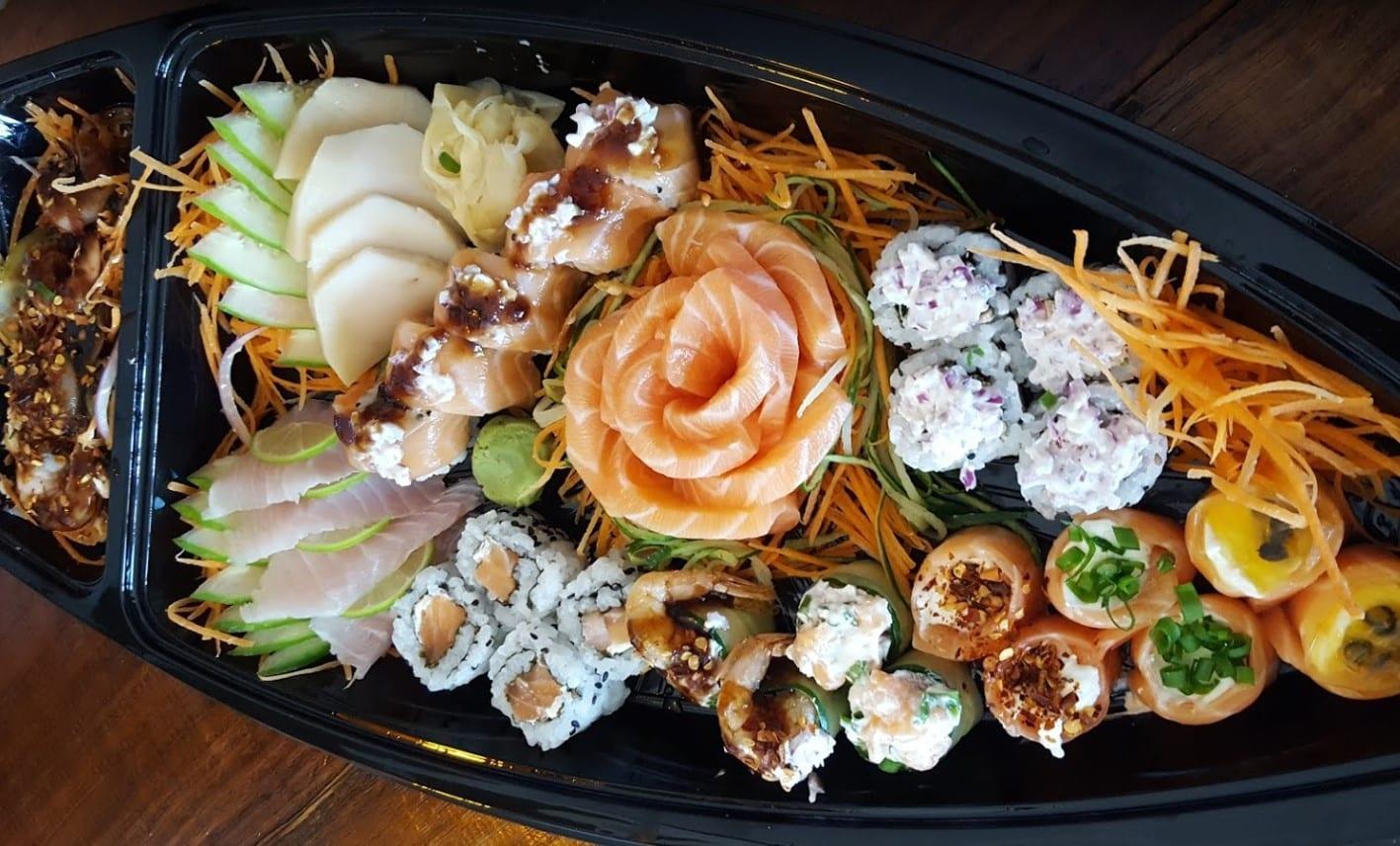 comida japonesa Rio Verde