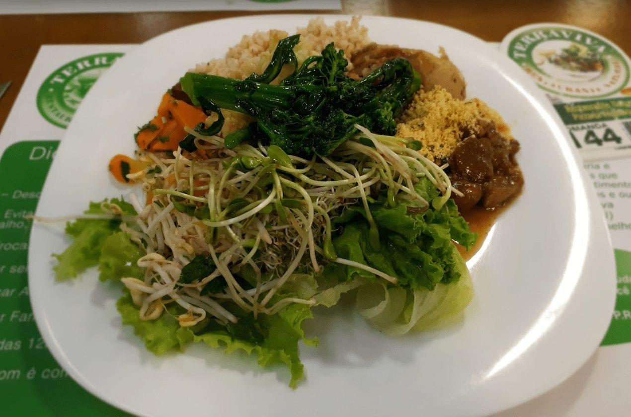 comida vegana Asa Norte Brasília