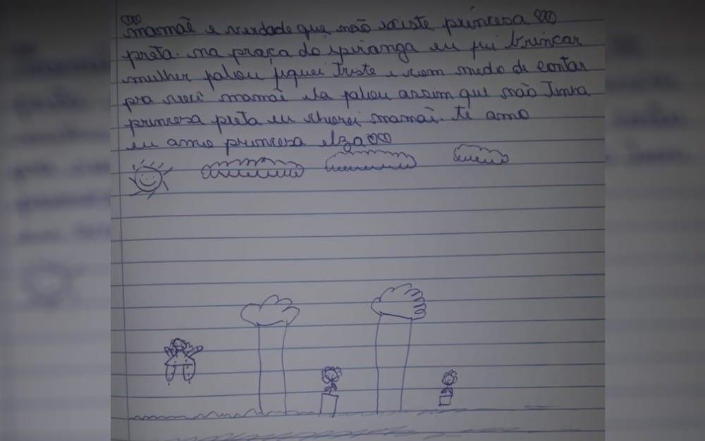 Vítima de racismo, menina ganha vestido e dia de princesa em Anápolis