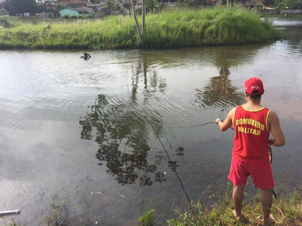 Jovem morre afogado ao tentar atravessar lago, em Cristianópolis