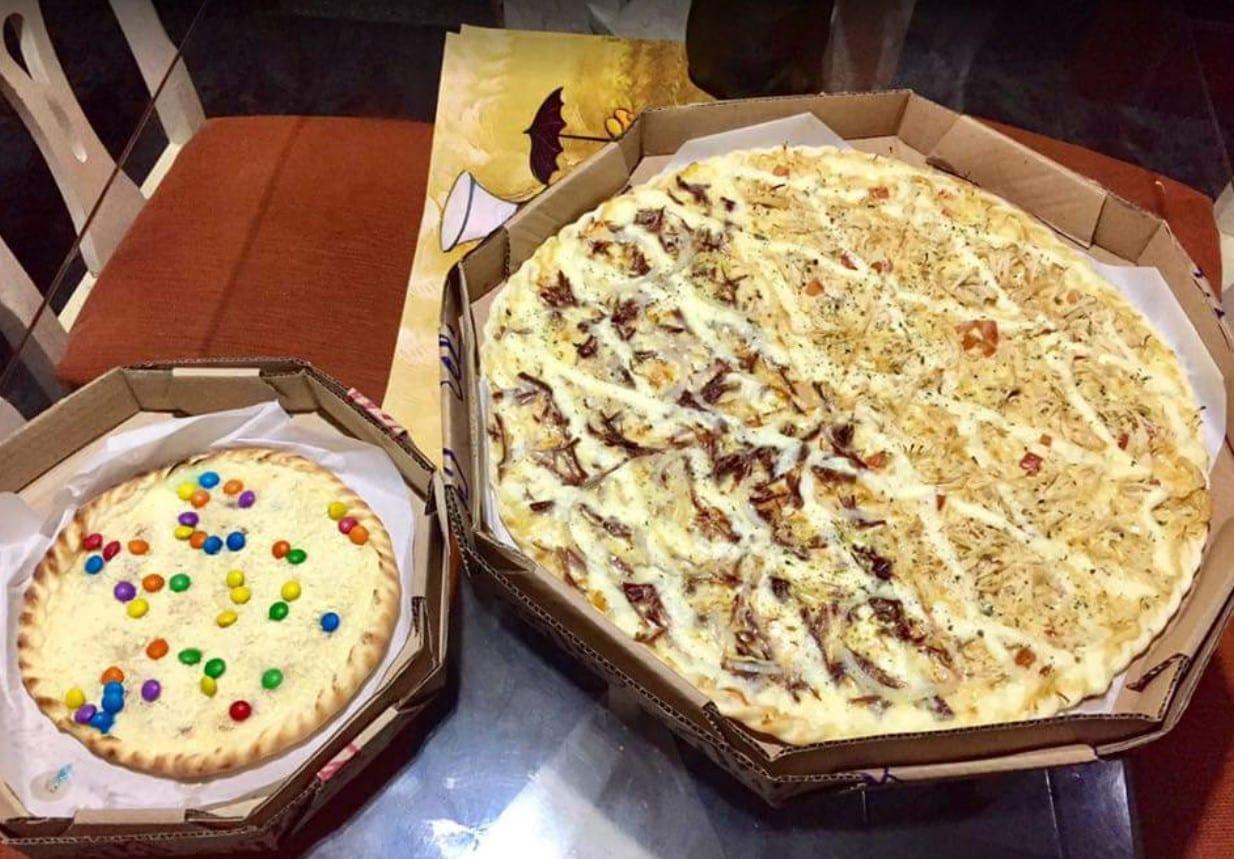 pizza em Trindade