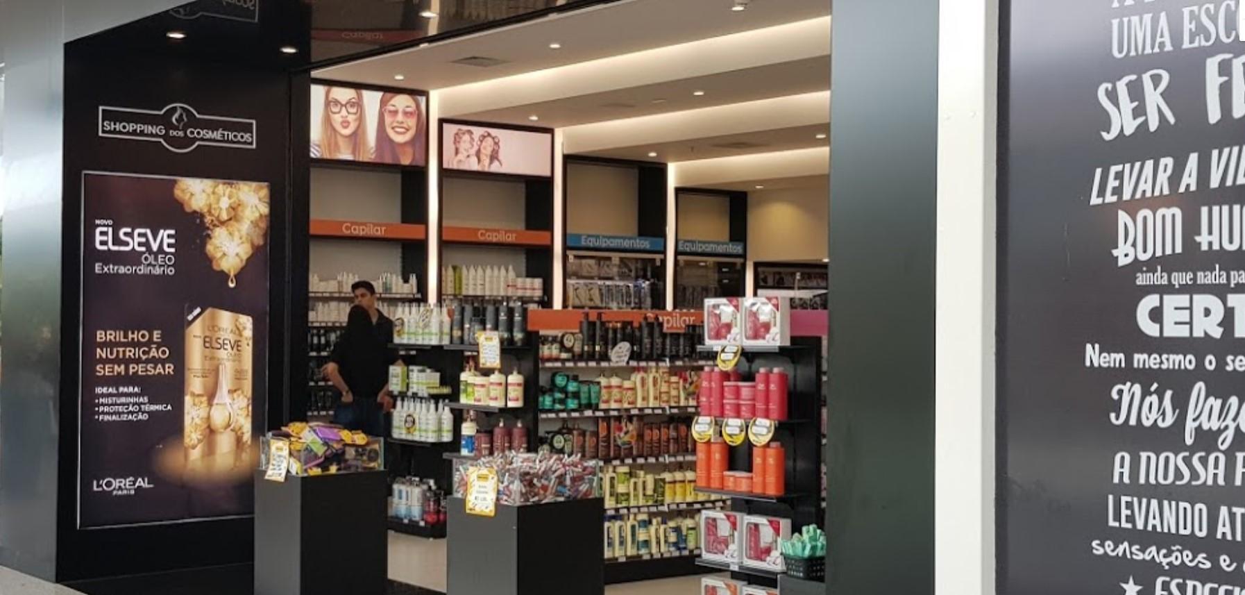 cosméticos em Brasília